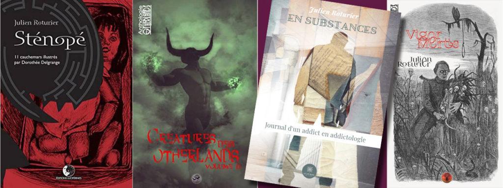 Les livres de Julien Roturier