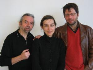 Sabine Stellittano, Olivier Gontiès et JFP
