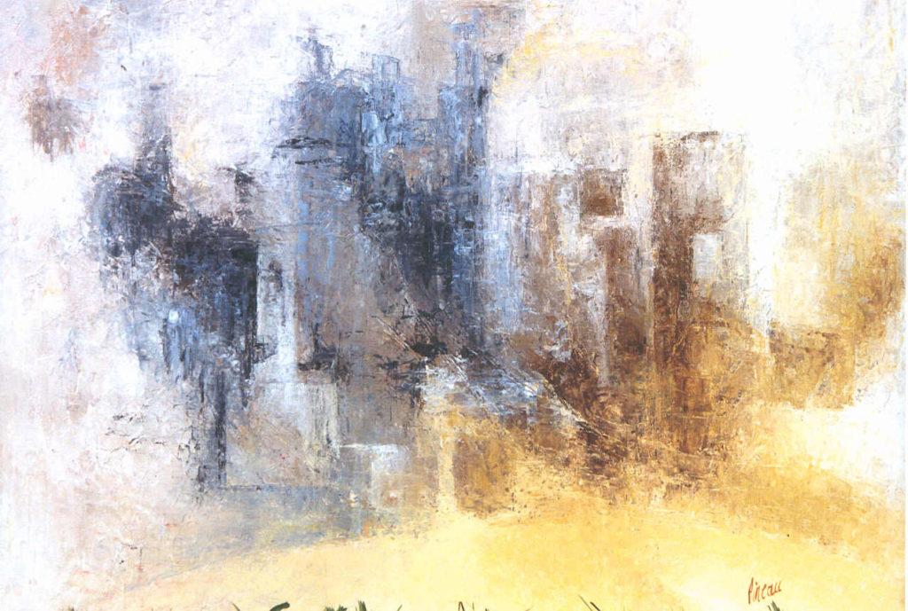 Une toile de JJ Pineau